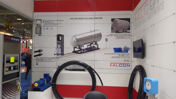 Petroleum Istanbul Fuarı Falcon