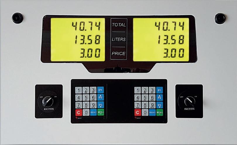 Lpg Dispenser Screen